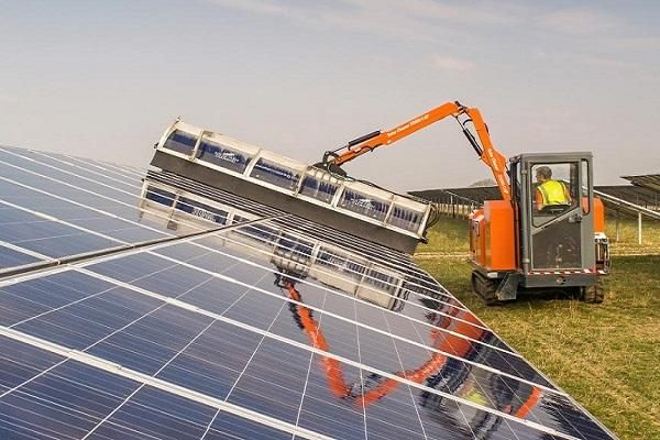 Solar panel cleaners